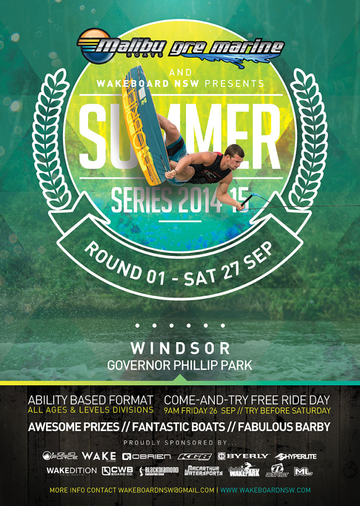 WB NSW_Summer Series - Round 01 Poster_27 Sep 2014_Web
